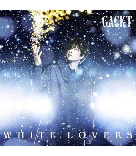 GACKT - WHITE LOVERS -Shiawasena Toki- (SINGLE + DVD) (édition japonaise)