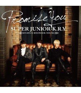SUPER JUNIOR K.R.Y - Promise You (édition japonaise)