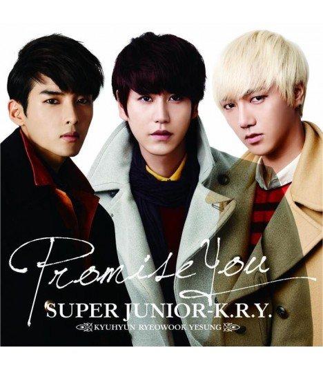 SUPER JUNIOR K.R.Y - Promise You (SINGLE + DVD) (édition japonaise)