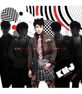 Kim Hyung Jun Mini Album Vol. 1 - My Girl (CD+DVD) (édition limitée Taiwan)