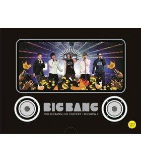 BIGBANG (빅뱅) 2009 Big Bang Live Concert: Big Show (3DVD + PHOTOBOOK) (réédition coréenne)