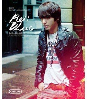 CNBLUE (씨엔블루) SPECIAL EDITION Re:BLUE (CD + DVD + PHOTOBOOK) (Jung Yonghwa)  (édition limitée coréenne)