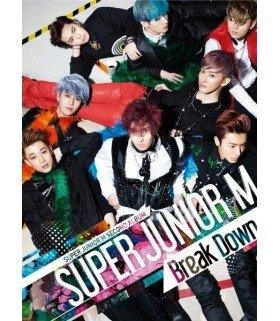 Super Junior M (슈퍼주니어 M) Album Vol.2 - Break Down (édition Taiwan)