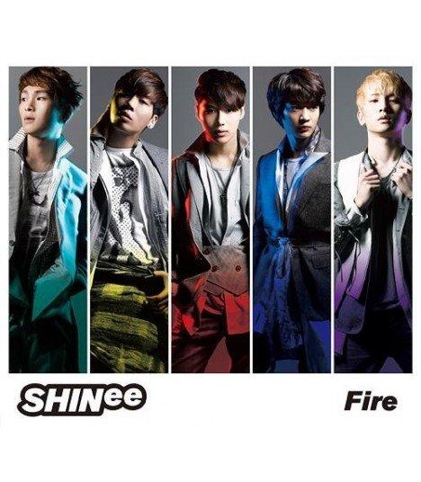 SHINee - Fire (SINGLE + DVD) (édition limitée japonaise)