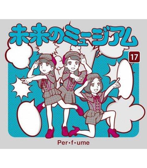 Perfume (パフューム) Mirai no Museum (SINGLE + DVD) (édition limitée japonaise)