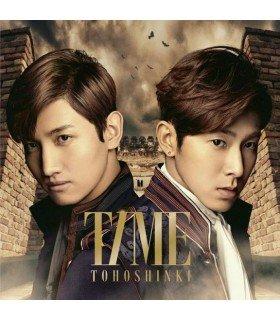 Dong Bang Shin Ki (Tohoshinki) TIME (Type A) (ALBUM + DVD) (édition limitée japonaise)