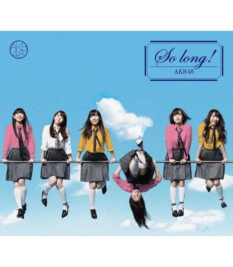 AKB48 - So long ! (Type B) (SINGLE + DVD) (édition normale japonaise)