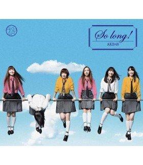 AKB48 - So long ! (Type K) (SINGLE + DVD) (édition normale japonaise)