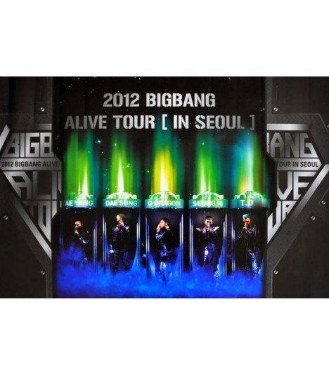 Affiche officielle - 2012 Big Bang Live Concert DVD (Alive Tour in Seoul)