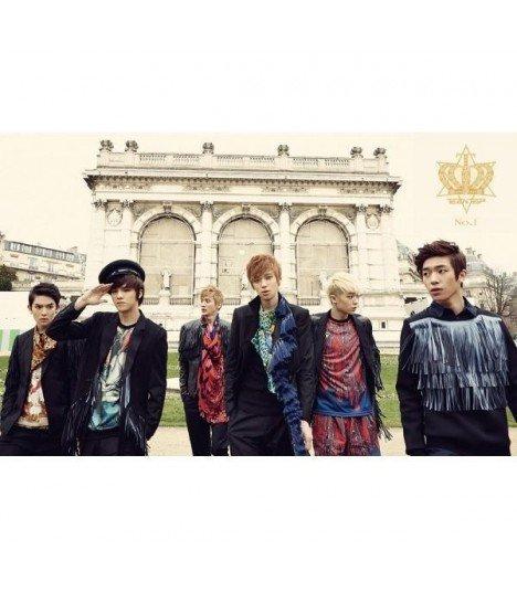 Teen Top (틴탑) Album Vol. 1 - No.1 (édition normale coréenne) (Poster offert)