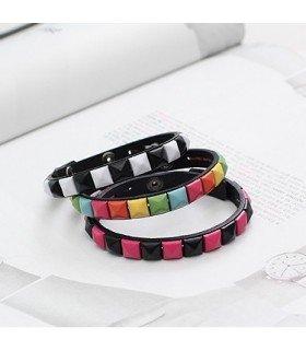BEAST x SHINee - Bracelet Pique (Black)