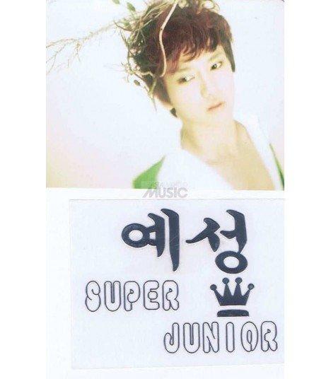 Sticker Métal Eunhyuk (Super Junior) 001