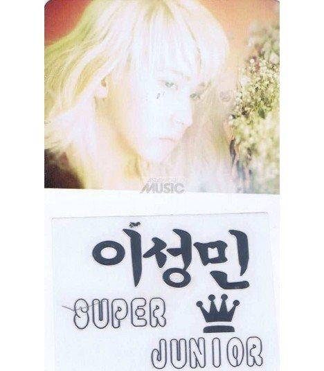 Sticker Métal Yesung (Super Junior) 001