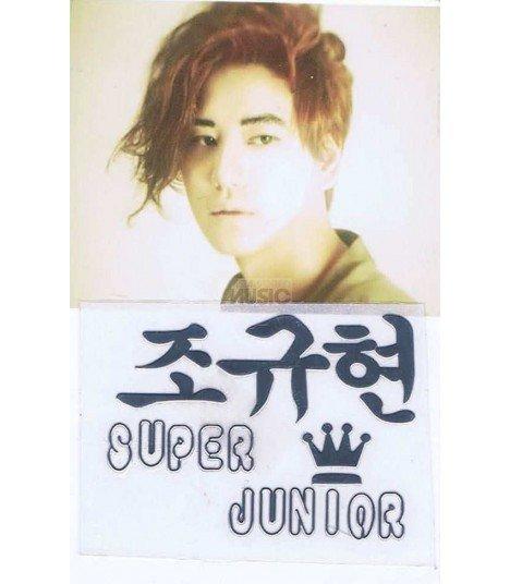 Sticker Métal Donghae (Super Junior) 001