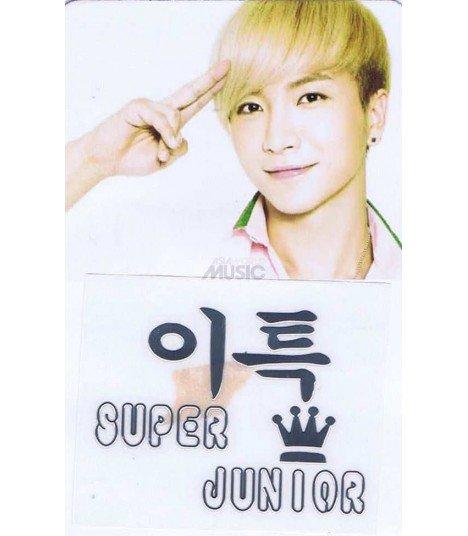 Sticker Métal Heechul (Super Junior) 001