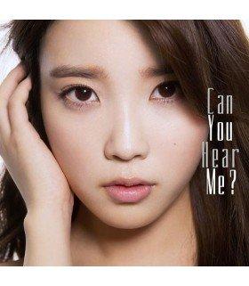 IU (아이유) Can You Hear Me ? (édition japonaise)