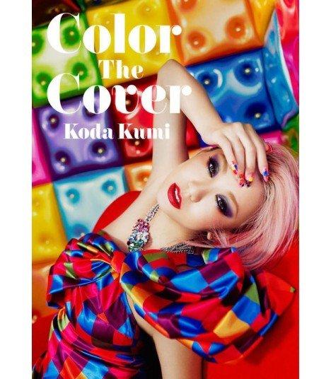 Koda Kumi (倖田來未) Color The Cover (ALBUM + DVD + PHOTOBOOK) (édition limitée taiwanaise)