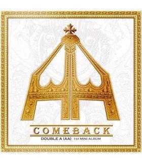 AA (더블에이) Mini Album Vol. 1 - Come Back (édition coréenne)
