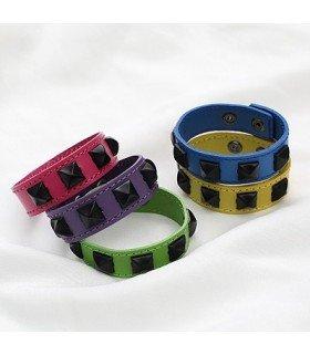 Bracelet - Vivid Leather (Purple)