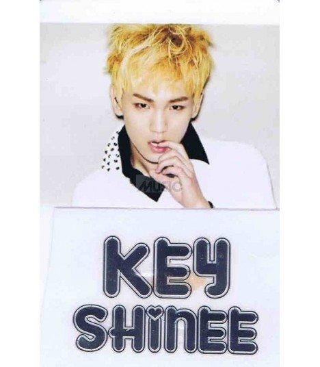Sticker Métal Key (SHINee) 001