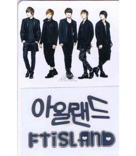 Sticker Métal FTIsland 001