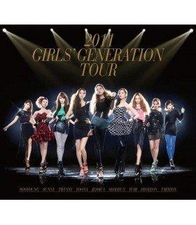 Girls' Generation (소녀시대) 2011 Girls' Generation Tour (2CD + PHOTOBOOK)  (édition coréenne)
