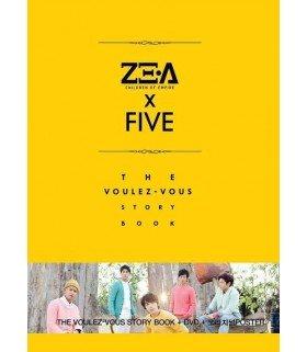ZE:A5 (제아파이브) Photobook - Voulez-vous (PHOTOBOOK + DVD) (édition coréenne)