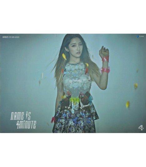 Affiche officielle 4Minute Mini Album Vol. 4 - Name is 4minute (Jihyun)