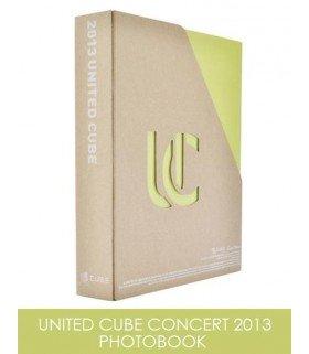 2013 UNITED CUBE CONCERT PHOTOBOOK (édition coréenne)