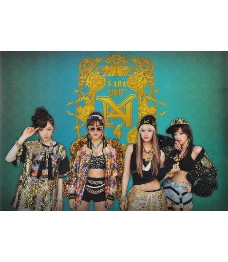 Affiche officielle T-ara N4 Mini Album Vol. 1 (Double affiche)
