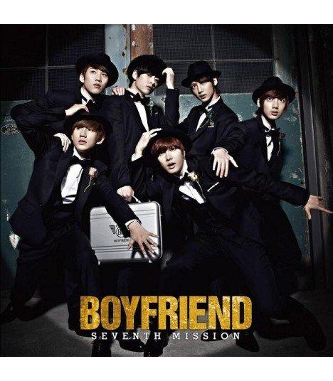 Boyfriend - SEVENTH MISSION (Type A) (ALBUM + DVD + GOODS) (édition limitée japonaise)