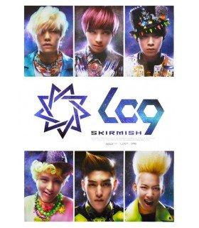 Affiche officielle LC9 Mini Album Vol. 1 - Skirmish