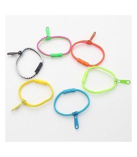 SHINee - Bracelet Simple Zipper (Black)