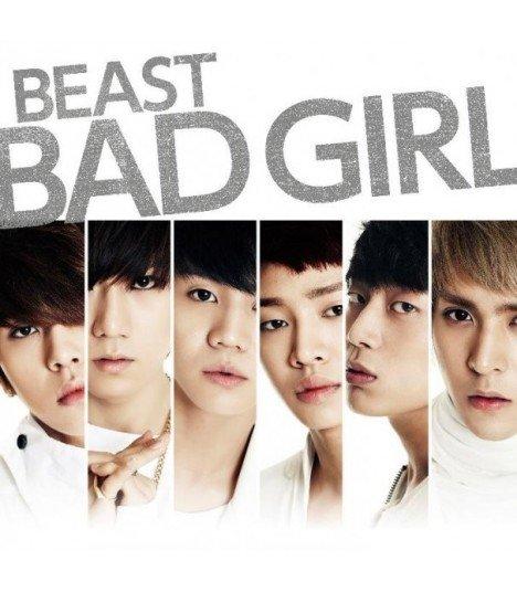 BEAST - Bad Girl (SINGLE+DVD)(First Press A)(édition limitée japonaise)