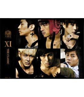 Affiche officielle Shinhwa Vol. 11 - THE CLASSIC (Thanks Edition)