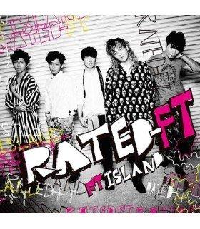 FTIsland - RATED-FT (Type B) (ALBUM + DVD) (édition limitée japonaise)