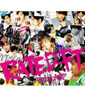 FTIsland - RATED-FT (Type A) (ALBUM + DVD + PHOTOBOOK) (édition limitée japonaise)