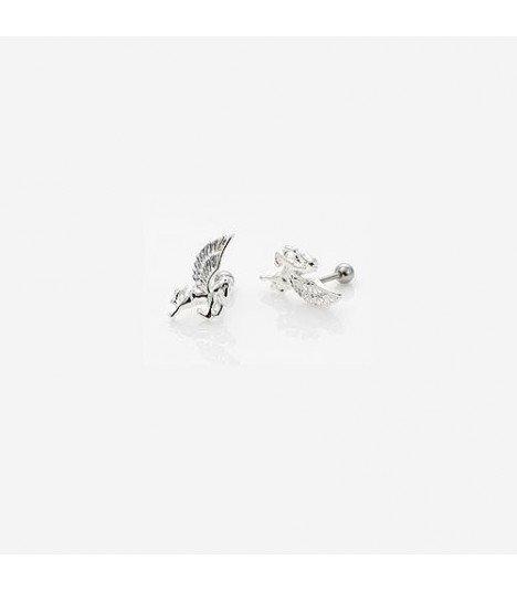 Boucles d'oreilles - Pegasus Style (Silver)