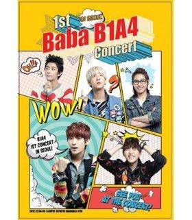 B1A4 (비원에이포) 1st Live Concert in Seoul: Baba B1A4 (3DVD + Photobook) (édition limitée coréenne)