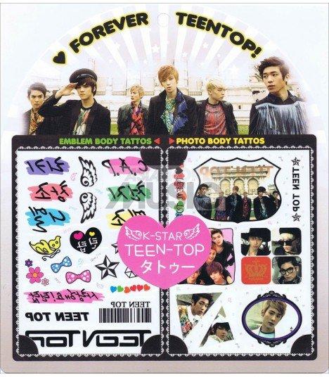 Tatouage K-Star EXO-K 001