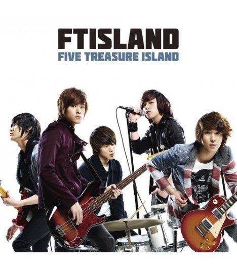FTIsland - FIVE TREASURE ISLAND (ALBUM+DVD)(First Press A)(édition limitée japonaise)
