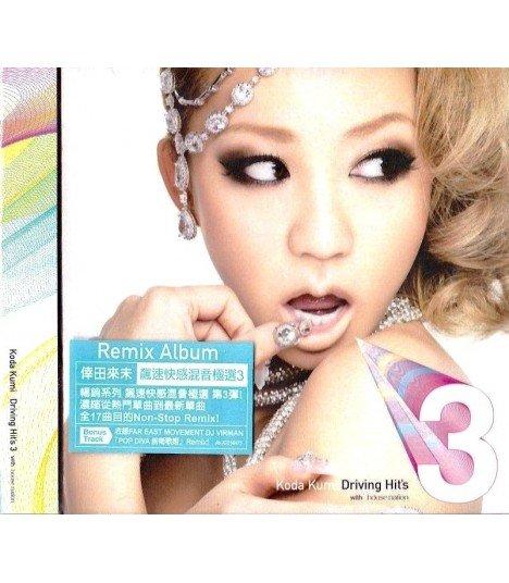 Koda Kumi - Koda Kumi Driving Hit's 3 (édition Hong Kong)