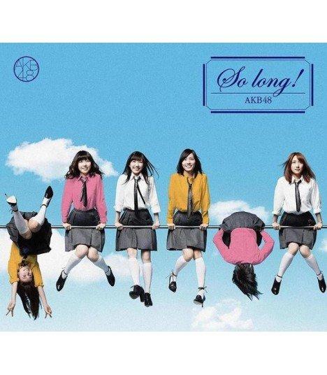 AKB48 - So long ! (Type A) (SINGLE + DVD) (édition normale japonaise)