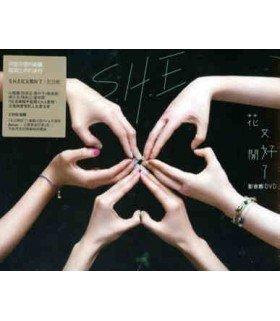 S.H.E 13th Album Blossomy (2DVD) (édition Taiwan)