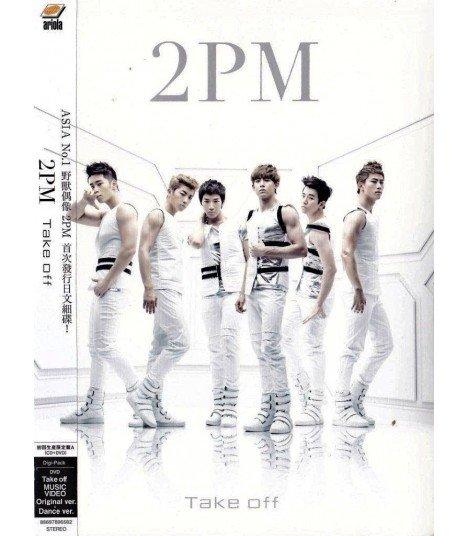2PM - Take Off (SINGLE+DVD)(First Press A)(édition limitée Taiwan)