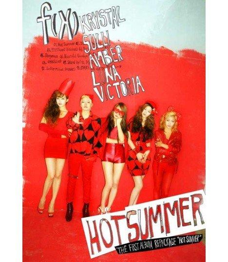 f(x) Vol. 1 (Repackage Album) - Hot Summer (Poster offert)