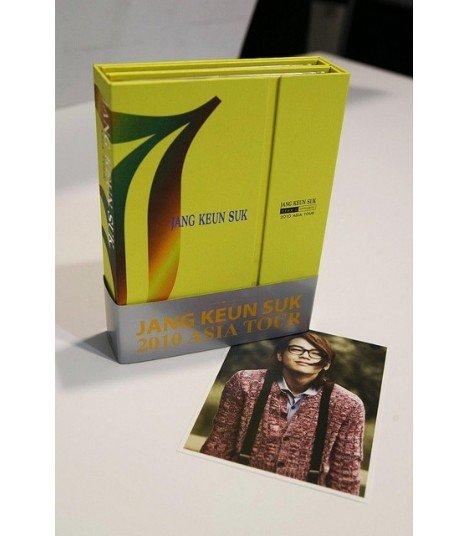 Jang Geun Suk - 2010 Asia Tour (4DVD+Poster)(édition coréenne)