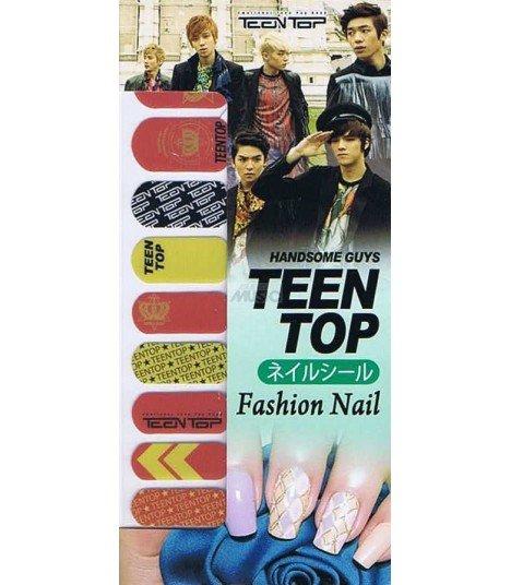Nail Patch autocollante - TEENTOP 001