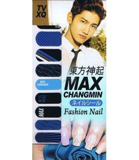 Nail Patch autocollante - MAX CHANGMIN 001