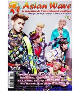 Asian Wave Magazine numéro 8 - Juillet / Août 2013 (Français)
